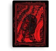 Mirror, Mirror Tormented Musician Canvas Print