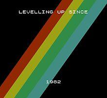 Old skool gaming - spectrum by SquareDog