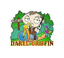 DARYL MEETS STEWIE Photographic Print