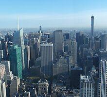 View of New York City skyline  by Jack Nolan