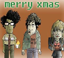 The IT Crowd X-mas Card by BurkyShtuff