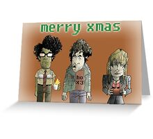 The IT Crowd X-mas Card Greeting Card