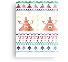 Bill Cipher Ugly Xmas Sweater--Color Metal Print