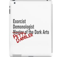 Petty Dabbler iPad Case/Skin