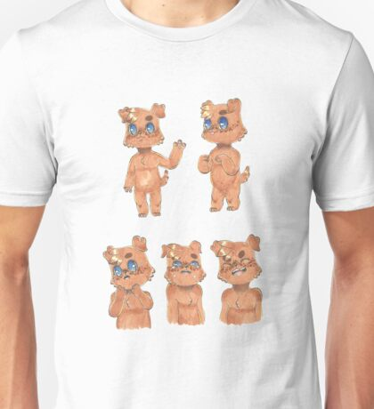 Puppy Hero Character Design and Emotions  Unisex T-Shirt