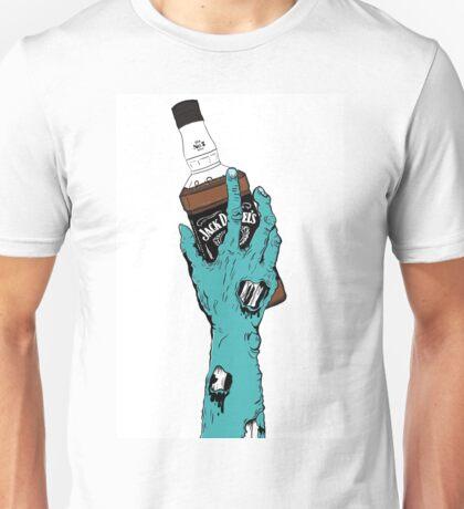 Zombie Jack Daniels Unisex T-Shirt
