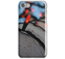 Holiday Lights 2 iPhone Case/Skin