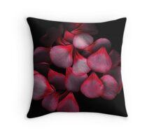 Geranium petals Throw Pillow