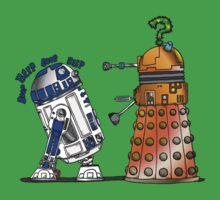 R2D2 meets a Dalek Kids Clothes