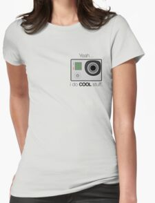GOPRO - I do cool stuff Womens Fitted T-Shirt