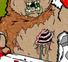 Zombie Ewok Sticker
