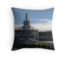 S.S. Klondike, Yukon, Canada. Throw Pillow