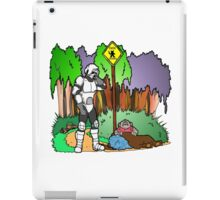 Ewok Crossing iPad Case/Skin