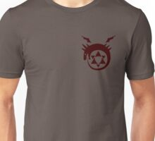 Fullmetal Alchemist O(u)roboros Homunculus Logo Red Unisex T-Shirt