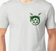 Fullmetal Alchemist O(u)roboros Homunculus Logo Green Unisex T-Shirt