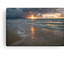 Same Place Another Time - Bribie Island Canvas Print
