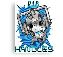 Rest In Peace Handles Canvas Print
