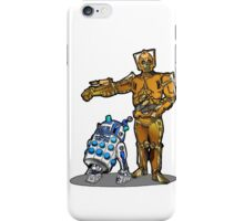 R2-Dalek2 & Cyber3PO iPhone Case/Skin