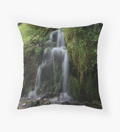 Lathkill Falls 2 Throw Pillow