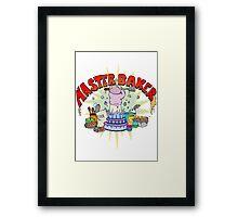 Master Baker Framed Print