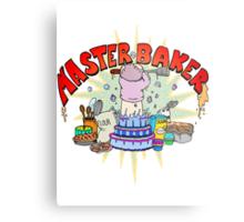 Master Baker Metal Print