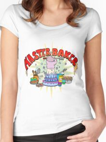 Master Baker Women's Fitted Scoop T-Shirt