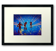 Back to the 60s Framed Print