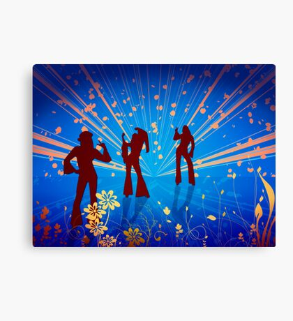 Back to the 60s Canvas Print
