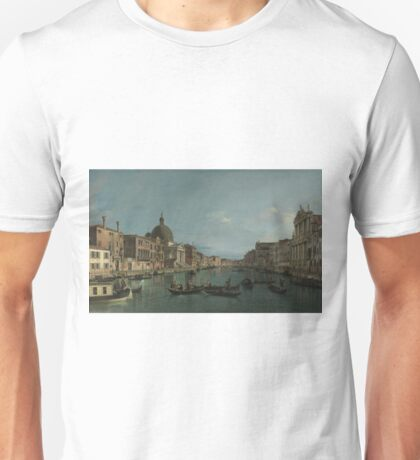 Canaletto - Venice - The Grand Canal With S. Simeone Piccolo Unisex T-Shirt
