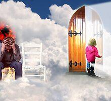 Heavens Gate Waiting Room by Derivatix