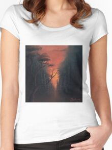 Thru the Forest Women's Fitted Scoop T-Shirt