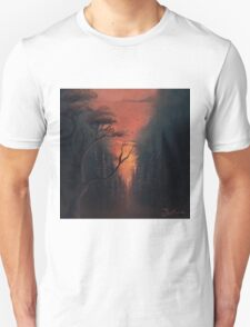 Thru the Forest Unisex T-Shirt