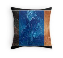 Souls On Earth, In Heaven, And In Hell  Throw Pillow