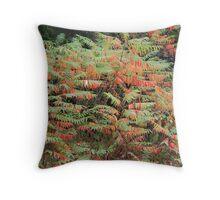 Autumn Sumac Throw Pillow