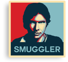 Smuggler Canvas Print