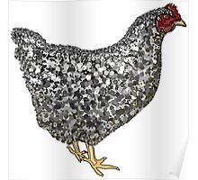 Barred Rock Poster