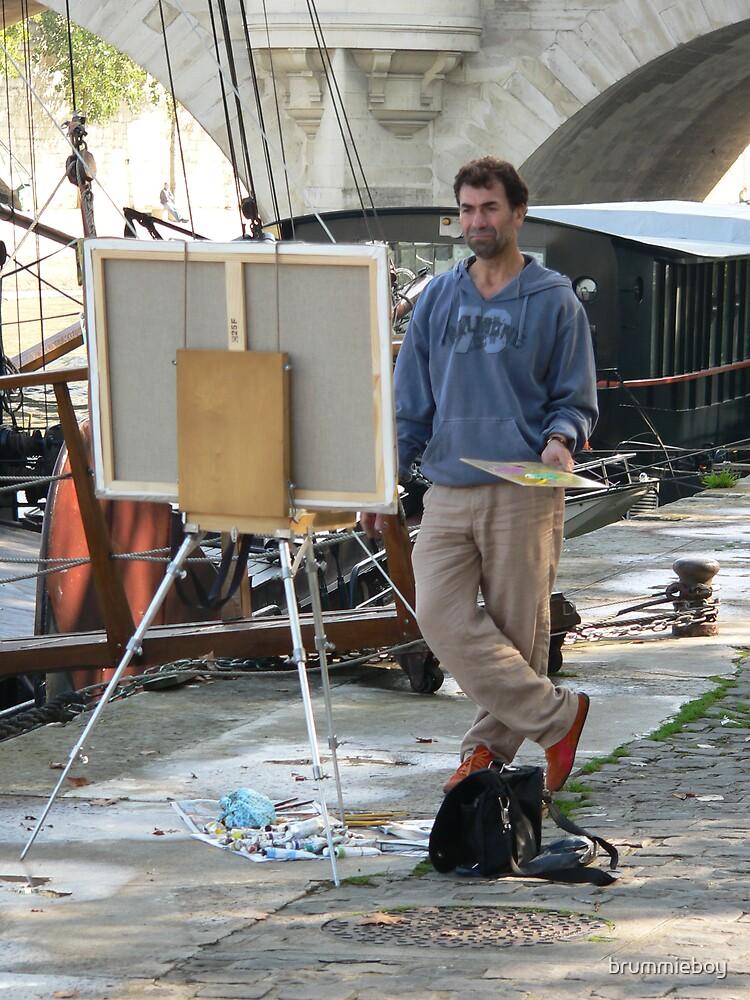 Parisian Artist by brummieboy