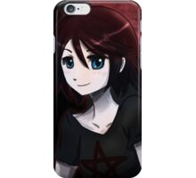 Red Moon Angel iPhone Case/Skin