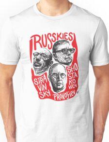Ruskies-Russian Composerss Unisex T-Shirt