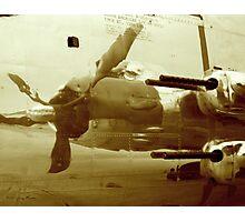 B25J Gunship Photographic Print