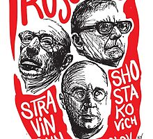 Ruskies-Russian Composerss by fortissimotees