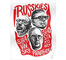 Ruskies-Russian Composerss Poster