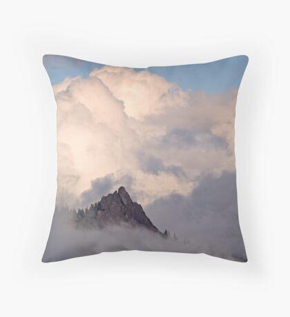 Hurricane Ridge (3665) Throw Pillow