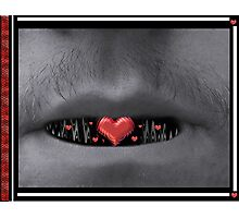 He Spoke With His Heart Photographic Print