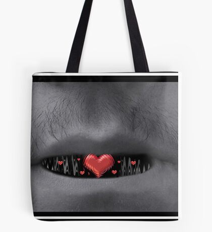 He Spoke With His Heart Tote Bag