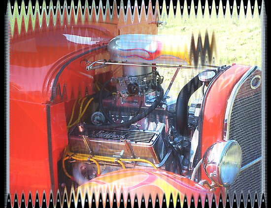Hot Rod Ford by Starr1949
