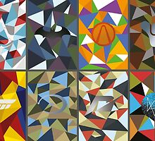 Game logo polygonal by Émil Lauzon