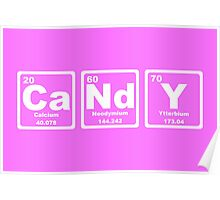 Candy - Periodic Table Poster