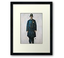 Thee Ould Irish Cop Framed Print