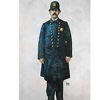 Thee Ould Irish Cop Photographic Print